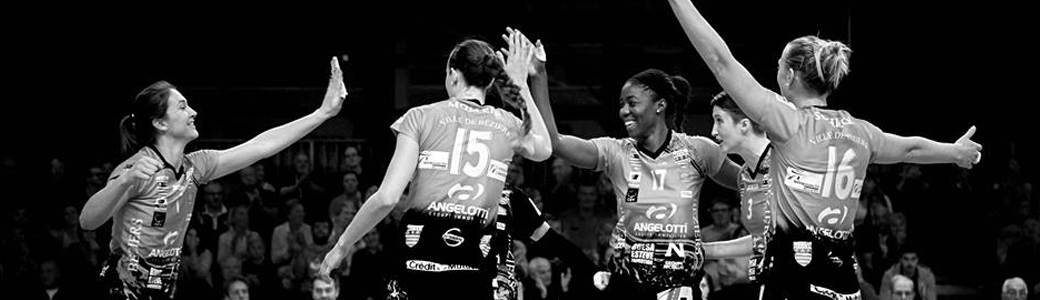 Gazechim supports Béziers Angels, women's volleyball club